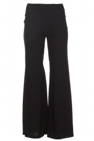 D-ETOILES CASIOPE |  Wrinkle free flare trousers Regarder | black  | Picture 1