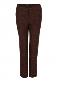 Trousers Lock | burgundy red