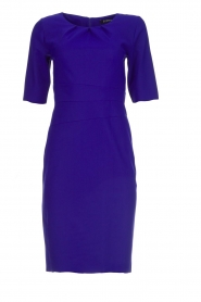 D-ETOILES CASIOPE |  Wrinkle free stretch dress Robby | purple  | Picture 1