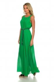 Kocca |  Maxi dress Liberta | green  | Picture 3