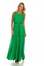 Kocca |  Maxi dress Liberta | green  | Picture 6