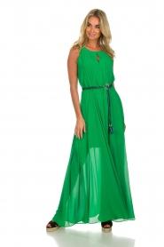 Kocca |  Maxi dress Liberta | green  | Picture 5