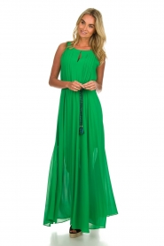 Kocca |  Maxi dress Liberta | green  | Picture 2