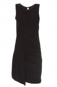 Kocca |  Draped dress Klore | black  | Picture 1