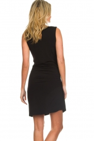 Kocca |  Draped dress Klore | black  | Picture 6