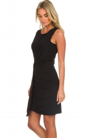 Kocca |  Draped dress Klore | black  | Picture 5