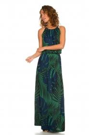 Kocca |  Glitter dress with print | multi  | Picture 2