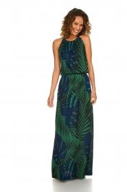 Kocca |  Glitter dress with print | multi  | Picture 3