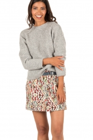 Knitted sweater Charcha | grey