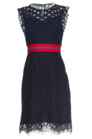 Kocca |  Lace dress Vand | navy  | Picture 1