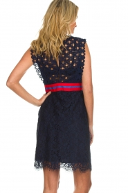 Kocca |  Lace dress Vand | navy  | Picture 6