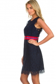 Kocca |  Lace dress Vand | navy  | Picture 5