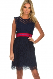 Kocca |  Lace dress Vand | navy  | Picture 2