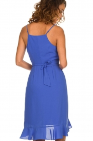 Kocca |  Dress with ruffles Ciulo | blue  | Picture 5