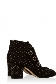Suede ankle boots Galaxy | black