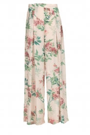 Kocca |  Floral trousers Trebig | natural  | Picture 1