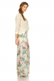 Kocca |  Floral trousers Trebig | natural  | Picture 4