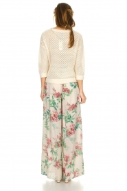 Kocca |  Floral trousers Trebig | natural  | Picture 5