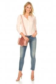 Rosemunde | Wollen vest met kasjmier Marbelle | roze  | Afbeelding 3