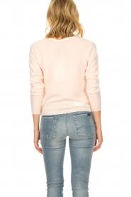 Rosemunde | Wollen vest met kasjmier Marbelle | roze  | Afbeelding 5