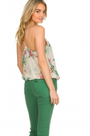 Kocca |  Top with floral print Blues | multi  | Picture 5