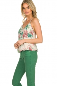 Kocca |  Top with floral print Blues | multi  | Picture 4