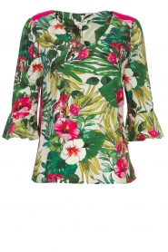 Kocca | Top met bloemenprint Jangle | multi  | Afbeelding 1