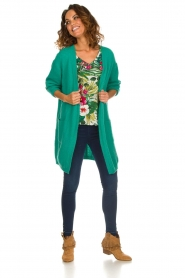 Kocca | Top met bloemenprint Jangle | multi  | Afbeelding 3