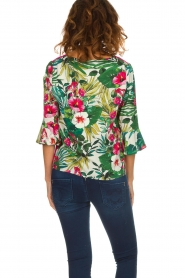 Kocca | Top met bloemenprint Jangle | multi  | Afbeelding 6