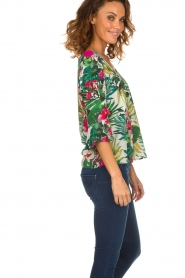Kocca | Top met bloemenprint Jangle | multi  | Afbeelding 5