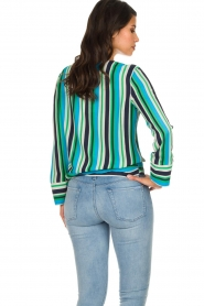 Kocca |  Striped blouse Norberto | multi  | Picture 5