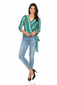 Kocca |  Striped blouse Norberto | multi  | Picture 3