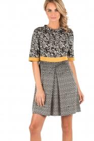 Dress Aelin | black & white