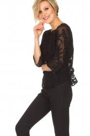 Rosemunde | Top Simone | zwart  | Afbeelding 4