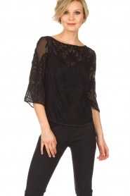 Rosemunde |  Top Simone | black  | Picture 2