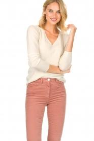 Rosemunde |  Sweater Lisa | cream  | Picture 2