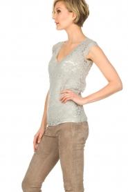 Rosemunde |  Lace top Freja | grey  | Picture 4