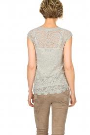Rosemunde |  Lace top Freja | grey  | Picture 5