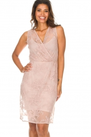 Rosemunde |  Lace dress Emma | pink  | Picture 4