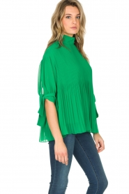 By Malene Birger |  Blouse Platta | green  | Picture 4