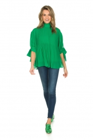 By Malene Birger |  Blouse Platta | green  | Picture 2