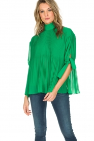 By Malene Birger |  Blouse Platta | green  | Picture 3