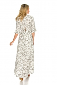 Dante 6 |  Maxi floral dress Ember | green  | Picture 5