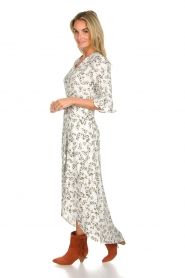 Dante 6 |  Maxi floral dress Ember | green  | Picture 4