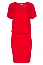 By Malene Birger | Jurk Amanth | rood  | Afbeelding 1