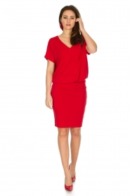 By Malene Birger | Jurk Amanth | rood  | Afbeelding 3