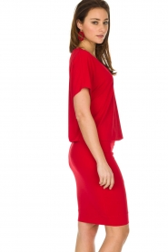 By Malene Birger | Jurk Amanth | rood  | Afbeelding 4