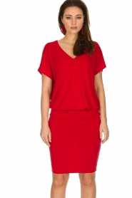By Malene Birger | Jurk Amanth | rood  | Afbeelding 6