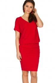 By Malene Birger | Jurk Amanth | rood  | Afbeelding 2