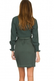 Dante 6 |  Wrap dress Ilya | green  | Picture 5